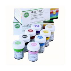 Colorants gel assortis Wilton (x8)