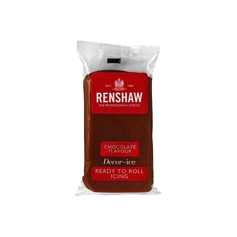 pate a sucre marron go 251 t chocolat 250 g renshaw pate a sucre fr