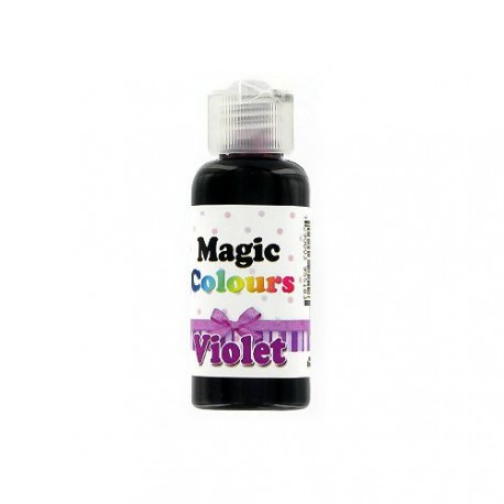 colorant alimentaire gel casher violet 32 g magic colours pate. Black Bedroom Furniture Sets. Home Design Ideas