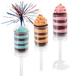 6 Push up cake pops Wilton