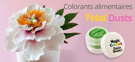 Découvrez les colorants alimentaires Petal Dusts de Magic Colours